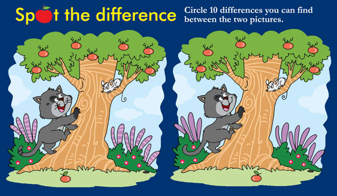 Spot the difference 3 champak magazine more spot the difference altavistaventures Choice Image