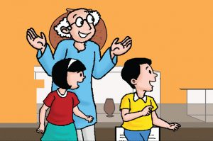 kids comic story