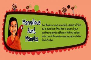 Marvellous Marvellous Aunt Maneka