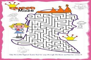 Maze-puzzle