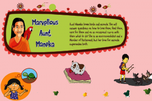 Aunt Maneka