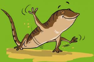 The-shovel-snouted-lizard