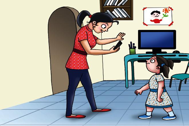 A Holiday without Computers! - Champak Magazine