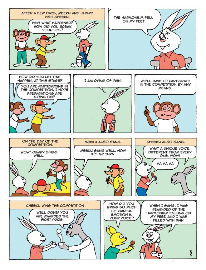 Cheeku comics